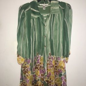 Vintage DVF Shirtdress